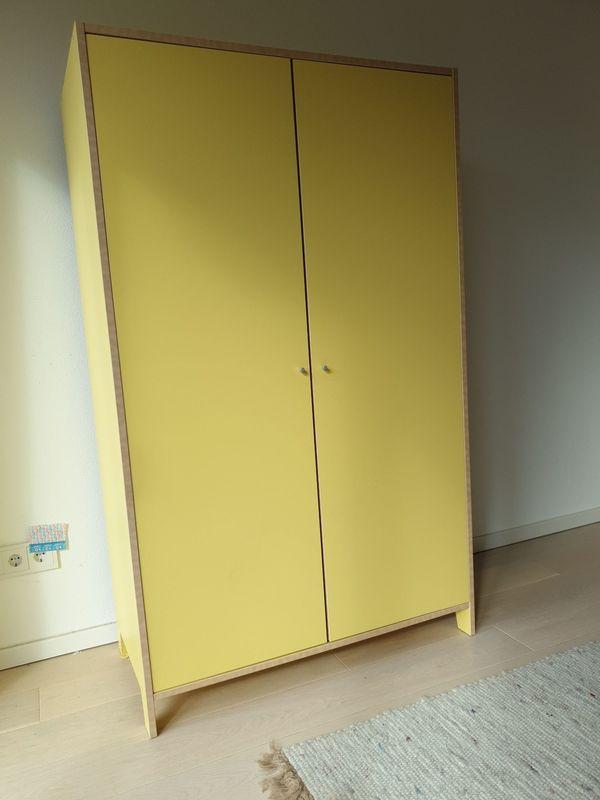 Kinderzimmer Kleiderschrank - Aying Dürrnhaar - robust, B100/H165/T50 cm - Aying Dürrnhaar