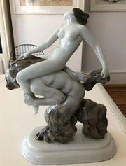 Porzellanfigur Hutschenreuther von Friedrich Heuler