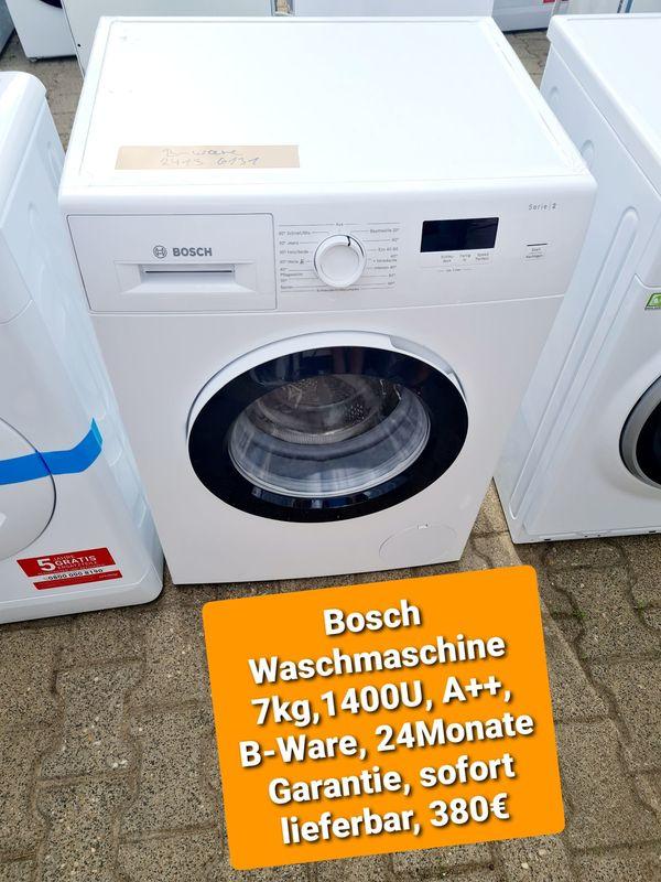 Bosch Waschmaschine 7kg 1400U