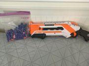 Nerf gun pumgun mit Patronen