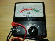 Batterietester Prüfer 1 5 - 9V