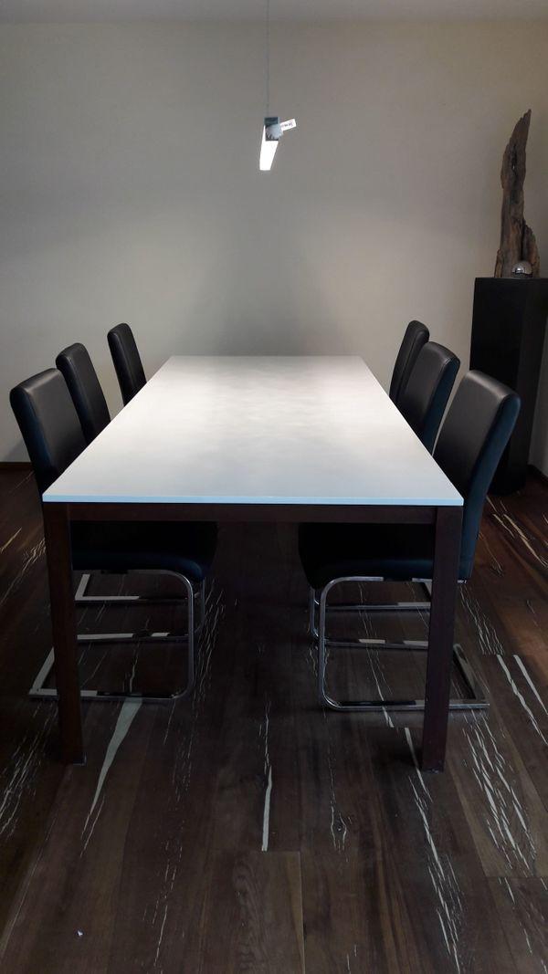 Sehr schöner Esstisch mit 6