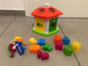 Chicco Sortierhaus Sortierspielzeug Steckspiel Steckpuzzle