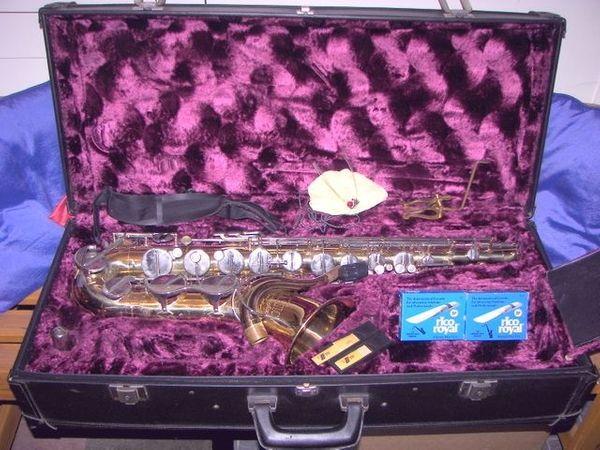 Verkaufe ein Tenor Saxophon Amati