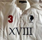 weißes Polohemd U S Polo