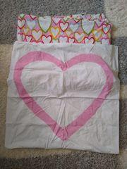 IKEA - Bettwäsche Bettbezug Herzen Mädchen