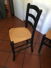 4 Stühle Holz