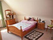 Schlafzimmer - Eiche hell - massiv - komplett