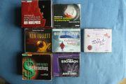 Hörbücher CD s Krimi Romane