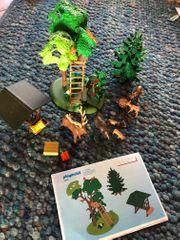 Playmobil Hochsitz mit Wildfütterung 4208