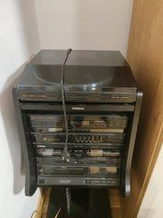 Fisher Stereoanlage mit Plattenspieler