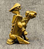 Hübsche Bronze Skulptur by Vic