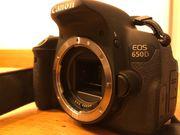 Canon EOS 650D Spiegelreflexkamera APS-C