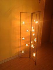 Teelichthalter Kerzenständer Kerze Windlicht Schmiedeeisen