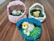 handmade Ostern Oster Körbchen
