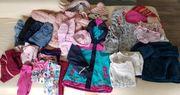 Mädchenkleidungspaket Gr 110 Herbst Winter