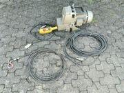 Minifor TR 50 Seilzug elektrisch