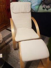 Schwing Sessel mit Fussteil