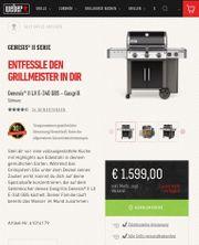 Weber Gas-Grill Genesis II LX