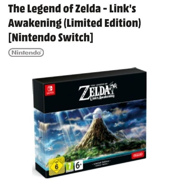 Nintendo Switch Zelda Link s