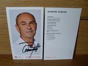 FC Bayern Autogrammkarte Fankarte Raimond