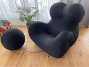 Iconic armchair Up by Gaetano