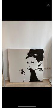 Ikea Audrey Hepburn Leinwand