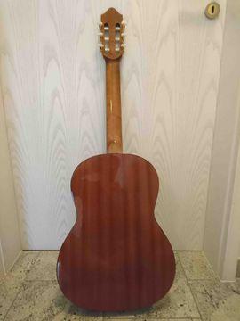 Gitarren/-zubehör - Konzertgitarre mit Transporttasche -rucksack