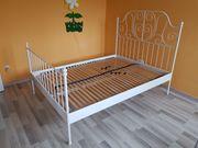 IKEA Bett LEIRVIK 140x200 mit
