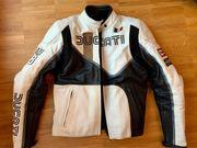 Ducati Lederjacke Motorrad Damen Isle