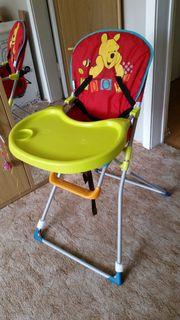 Kinderstuhl klappbar mit hoher Lehne