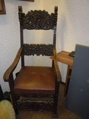 Schreibtisch Stuhl 1900 als Deko