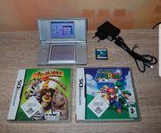 Nintendo DS Lite 3 Spiele -