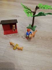Playmobil Golden Retriever mit Welpen