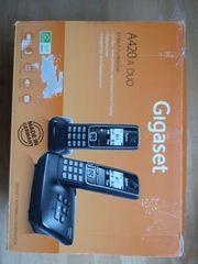 2 Gigaset A420 DECT Telefone