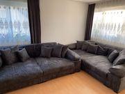 Big Sofa Vintage Schwarz