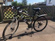 Fahrrad mit Scheibenbremsen