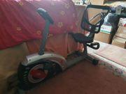 Hometrainer - Recumbent - Fahrradbike v Christopeit
