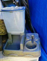Wasserspender Futterautomat für Hunde und