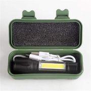 LED Taschenlampe USB Wiederaufladbar Taschenlampe