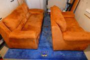 Hochwertige Sofagarnitur 2- und 3-Sitzer
