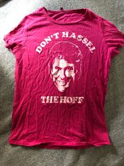 Shirt David Hasselhoff pink