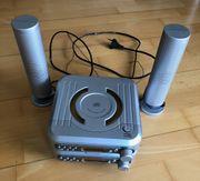 Mini Stereo Anlage mit Lautsprecher