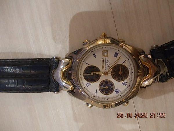 Seiko Chronograph 7T32-6G90 5Bar