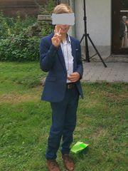 H M Leinenanzug Jungenanzug Anzug