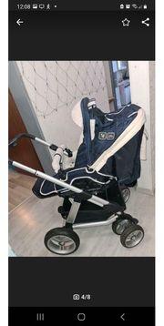 Stabiler ABC-Design Kombi-Kinderwagen inkl Babywanne