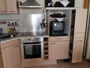 Küche gut erhalten mit Einbaugeräten