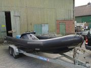 Festrumpfschlauchboot Rib