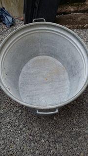 Verkaufe alte Zinkwanne 75 Liter
