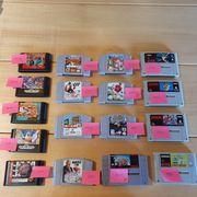 Games Snes Sega Genesis